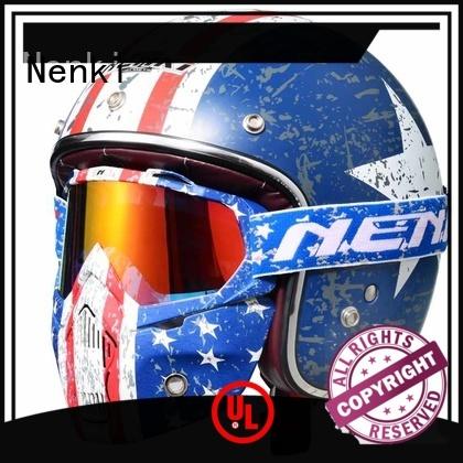 Quality Nenki Brand best open face motorcycle helmet safe affordable