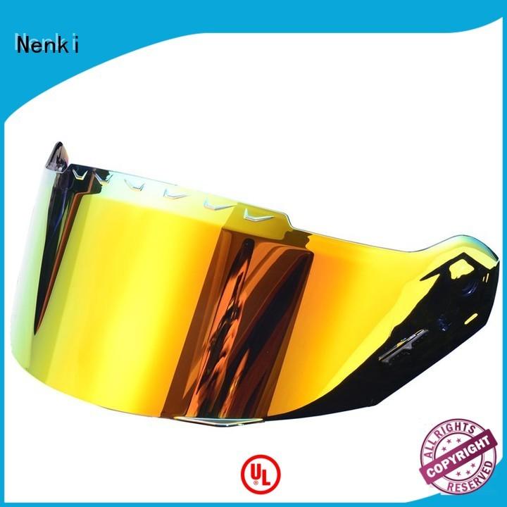 Anti-UV approved Hot selling OEM helmets visors Nenki