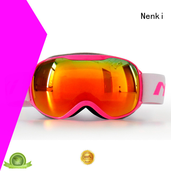 Nenki Brand certified affordable top rated ski goggles approved supplier
