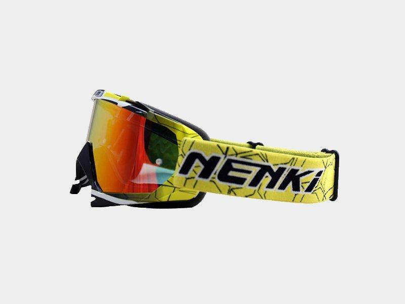 Wholesale Windproof best motocross goggles Fashion Nenki Brand