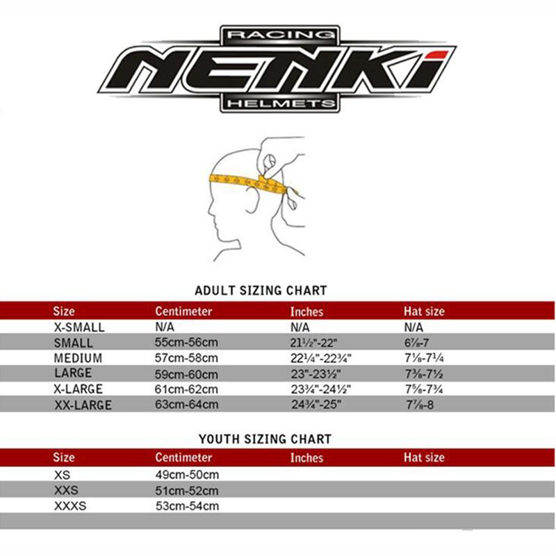 certified Comfortable Protective OEM top motorcycle helmet brands Nenki