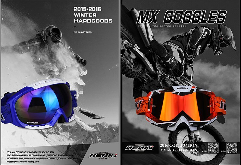 Nenki goggles catalogue