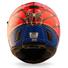 Motorcycle Helmets Full Face Helmet Street Bike DOT Certified 2 Visors with Clear Shield Dual Visors Fiberglass Shell Spiderman
