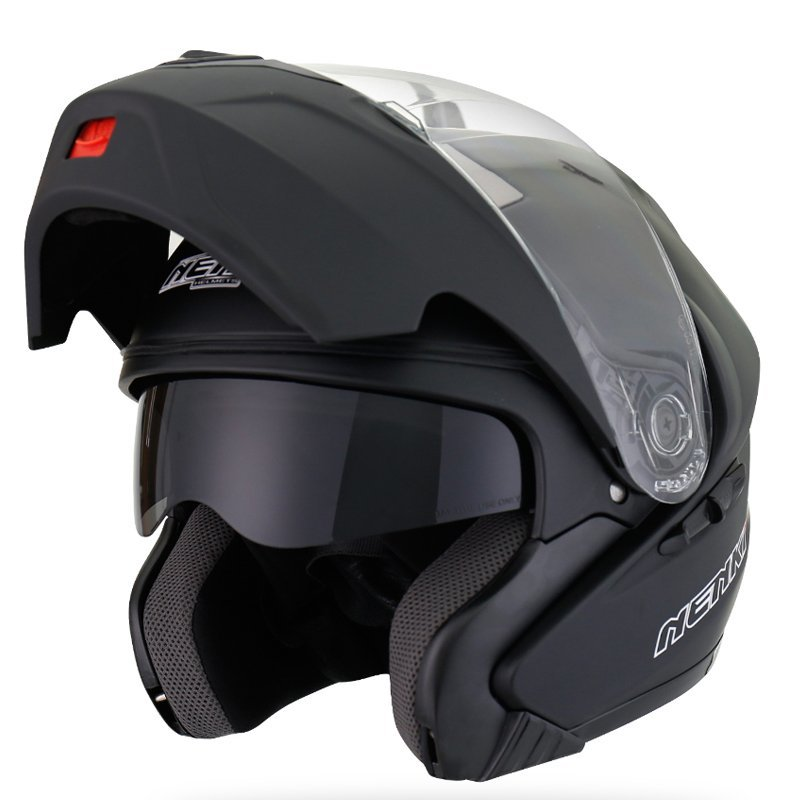 Motorcycle Flip up Modular Full Face Helmet DOT Approved Street Bike Helmet NK815 Nenki Helmet