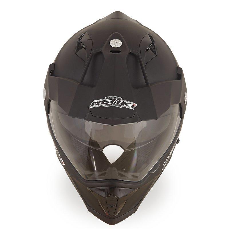 Nenki Dual Sport Helmet Motocross Off Road Motorcycle Helmet Full Face Helmet ECE Approved Dual Visors NK-313 Nenki Helmet Dual Sport Helmets image8