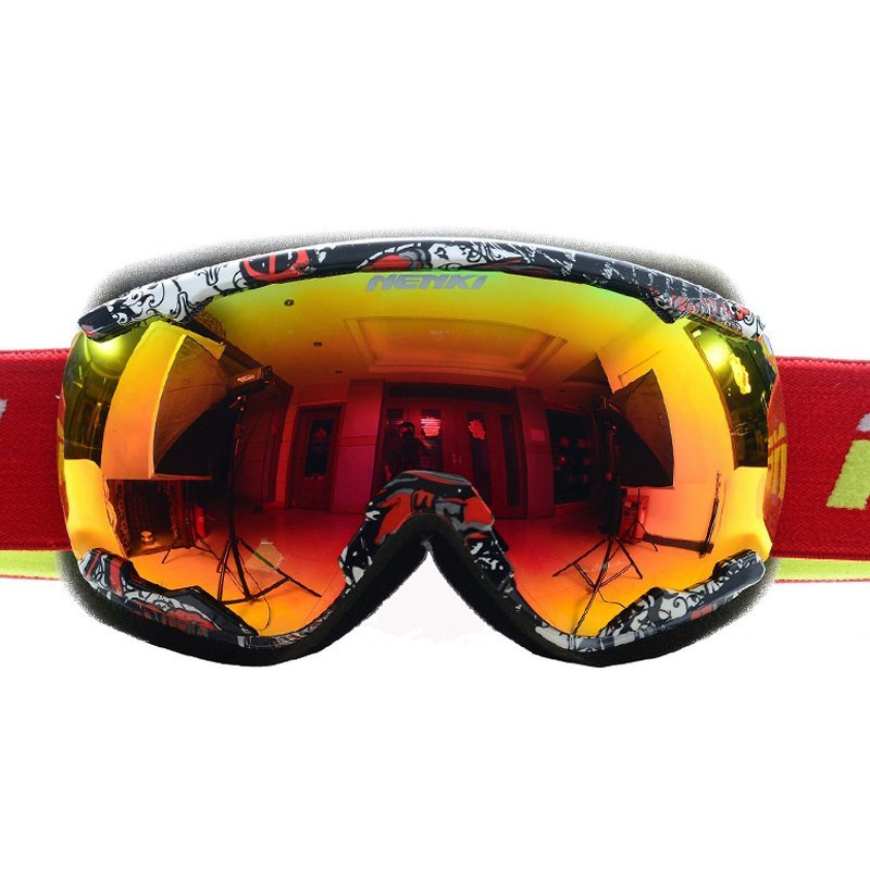 Nenki Ski Goggles Snow Goggles 100% 400 UV Protection Anti Fog Outdoor Sports Snowboard Glasses NK1007 Nenki Ski Goggles image1