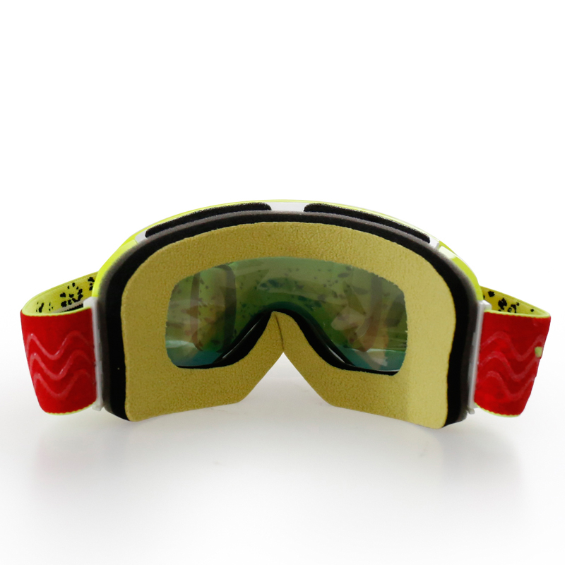 Nenki Ski Goggles Snow Goggles 100% 400 UV Protection Anti Fog Outdoor Sports Snowboard Glasses Revo NK1006 Nenki Ski Goggles image2