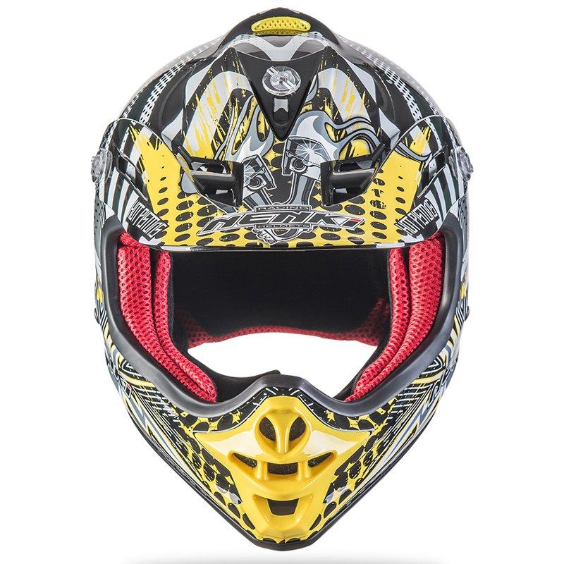 Nenki Motorcycle Kids Youth Motocross Helmet ECE Approved ATV Dirt Bike Motorbike Off Road Free MX Goggles NK303 Nenki Helmet Motocross Helmets image5