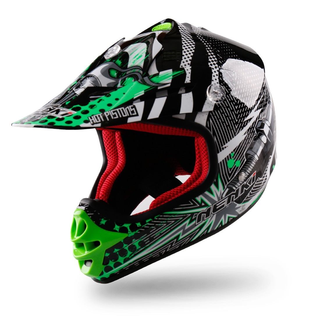 discount helmets Off-Road Fiberglass Warranty Nenki
