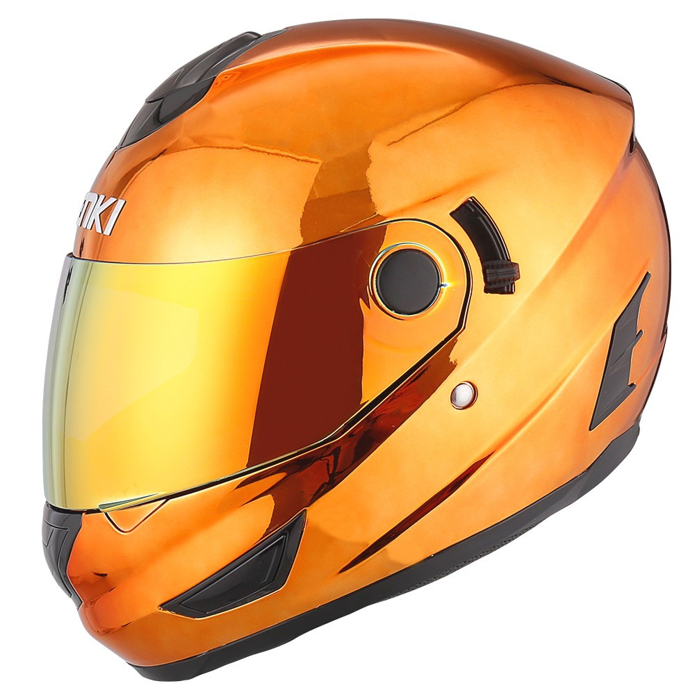 discount full face motorcycle helmets fiberglass full face full face motorcycle helmets for sale Nenki Brand