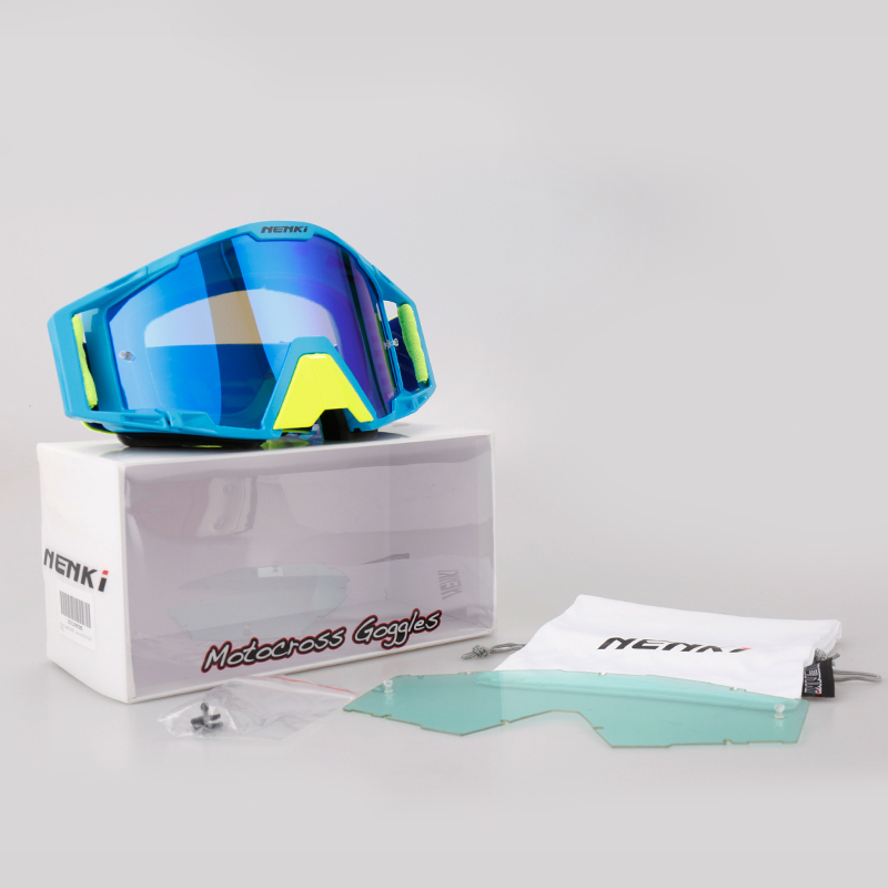 Windproof cheap motocross goggles Riding Nenki company