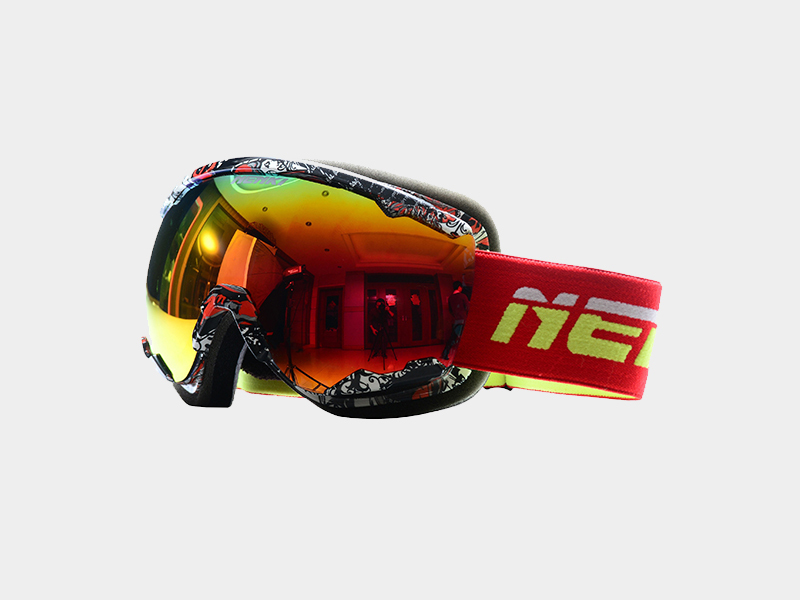 Hot top rated ski goggles approved Nenki Brand