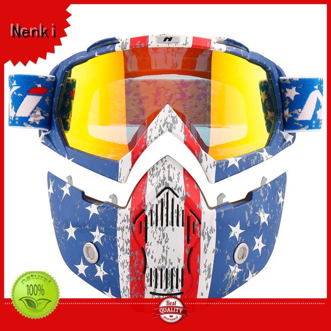 Lightweight open face helmets online new Nenki company