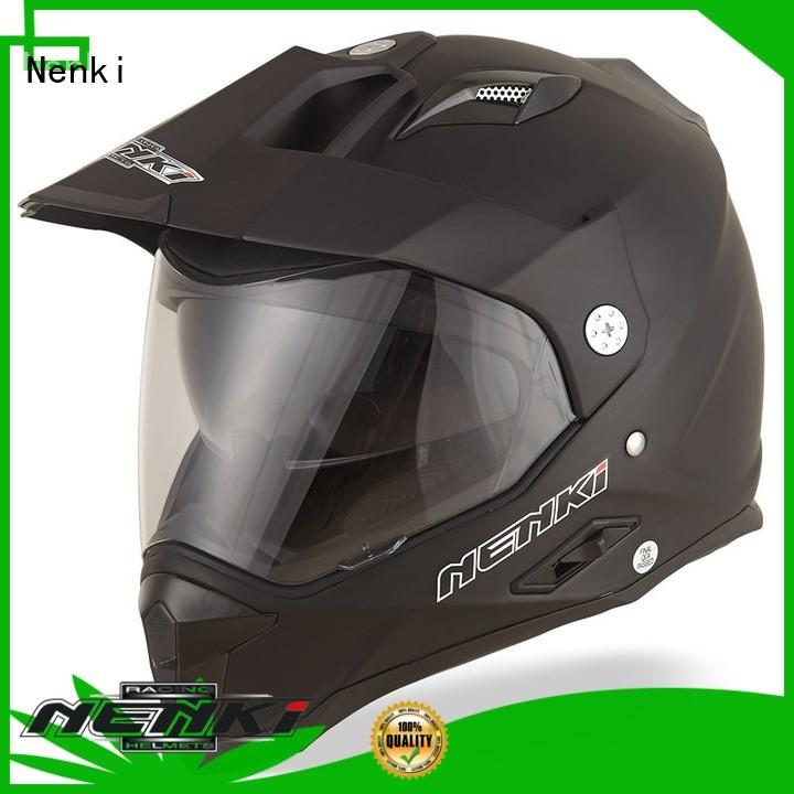 best adventure motorcycle helmet OffRoad cheap Nenki Brand company