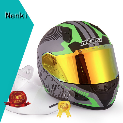 Nenki Brand certified Fashion full face discount full face motorcycle helmets spiderman