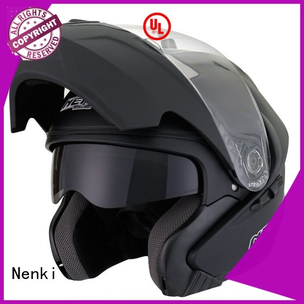 new Comfortable flip motorcycle helmet wholesale Hot selling Nenki company