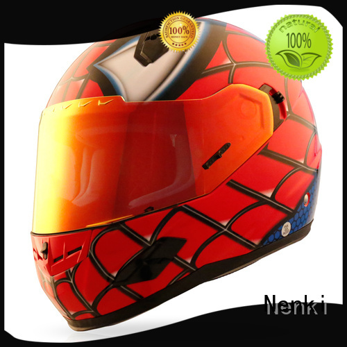 affordable cheap Hot selling full face motorcycle helmets for sale spiderman Nenki