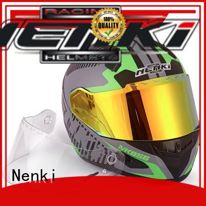 discount full face motorcycle helmets Hot selling Top rated full face motorcycle helmets for sale Nenki Brand