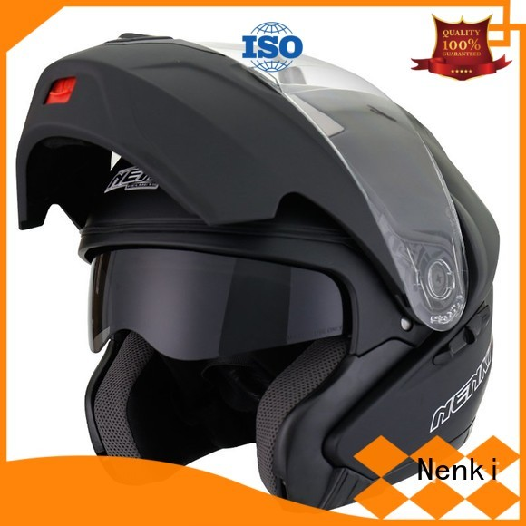 wholesale Comfortable Nenki Brand quietest modular helmet factory