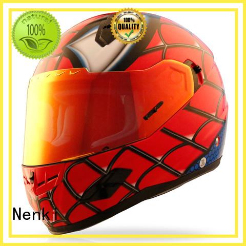 Custom safe full face motorcycle helmets for sale Top rated Nenki