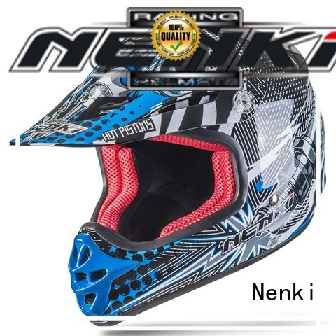 Quality Nenki Brand Protective Comfortable motocross helmets for sale