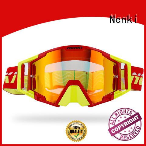 Fashion best motocross goggles Protective Riding Nenki Brand