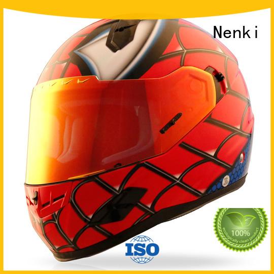 Nenki Brand wholesale visor affordable discount full face motorcycle helmets
