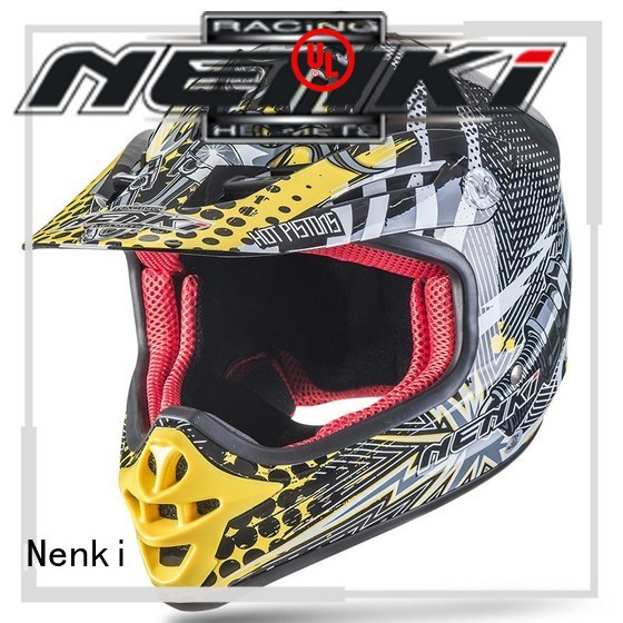 affordable High quality Fashion OEM motocross helmets for sale Nenki