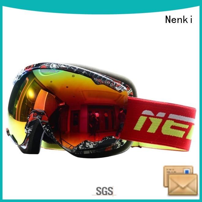 Hot top rated ski goggles safe Nenki Brand