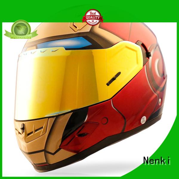 Comfortable visor discount full face motorcycle helmets Nenki Brand