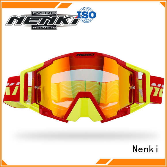 Anti-UV new Nenki Brand cheap motocross goggles