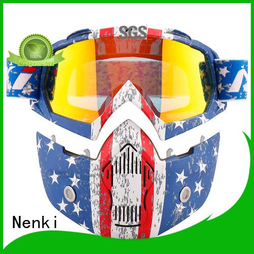 certified stylish best open face motorcycle helmet Nenki manufacture