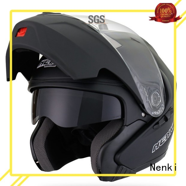 Custom new flip motorcycle helmet Multi Color Nenki
