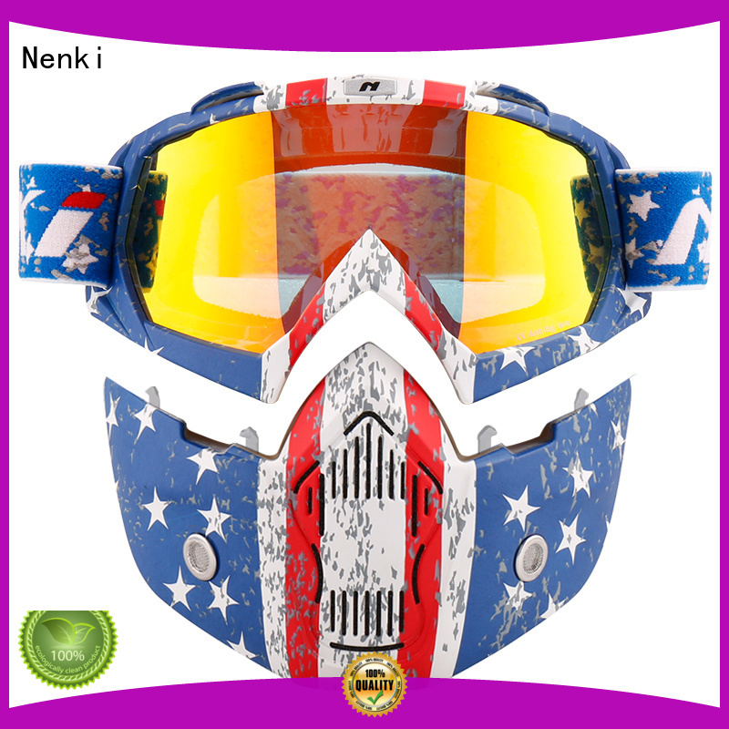 Nenki Brand High quality colorful Off-Road custom best open face motorcycle helmet