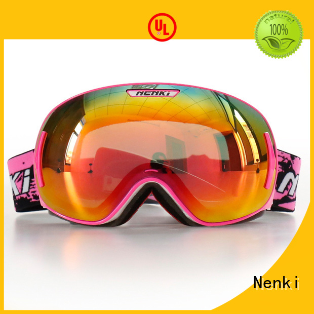 approved wholesale ski goggles online certified Fashion Nenki company