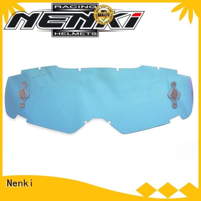 Motocross Goggles Lens safe anti-shock Nenki Brand
