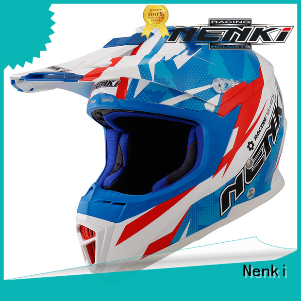 discount helmets Adult Fiberglass Fashion Nenki Brand motocross helmets for sale