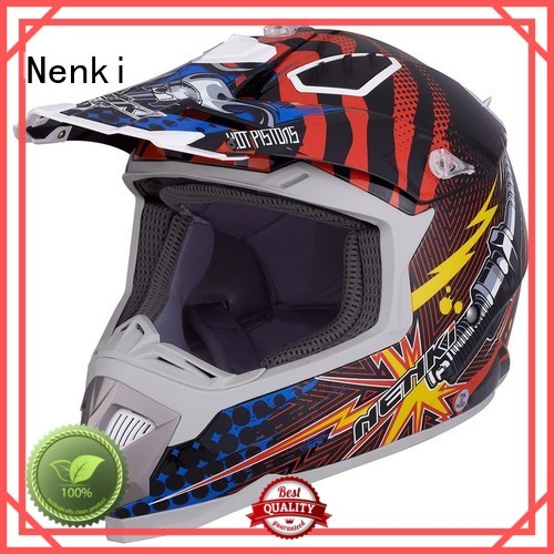 High quality certified Top rated motocross helmets for sale Nenki Brand company