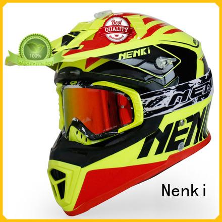 wholesale Fashion motocross helmets for sale certified Nenki