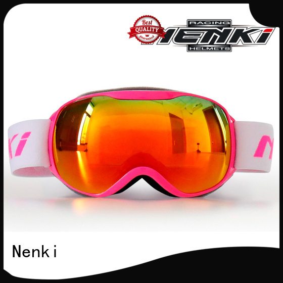Nenki Brand cheap skating top rated ski goggles High quality