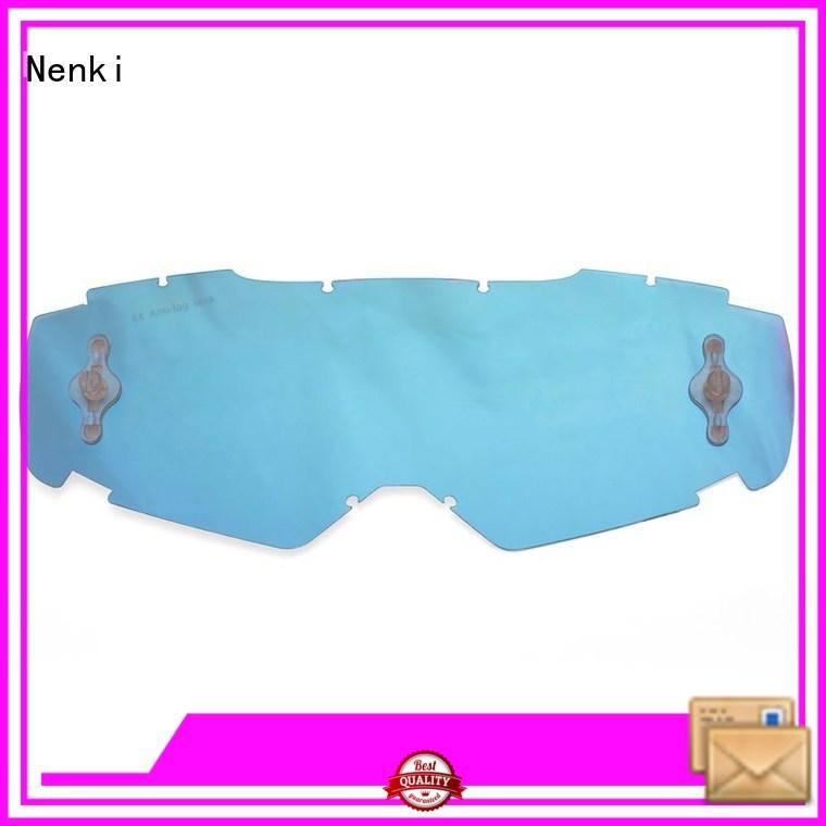 Wholesale adjustable Motocross Goggles Lens Protective Nenki Brand