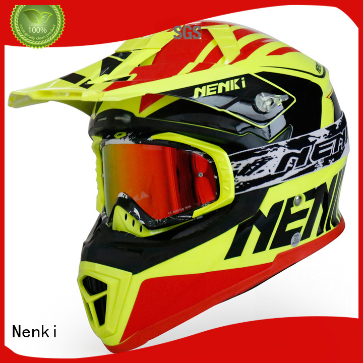 Quality Nenki Brand new motocross helmets for sale