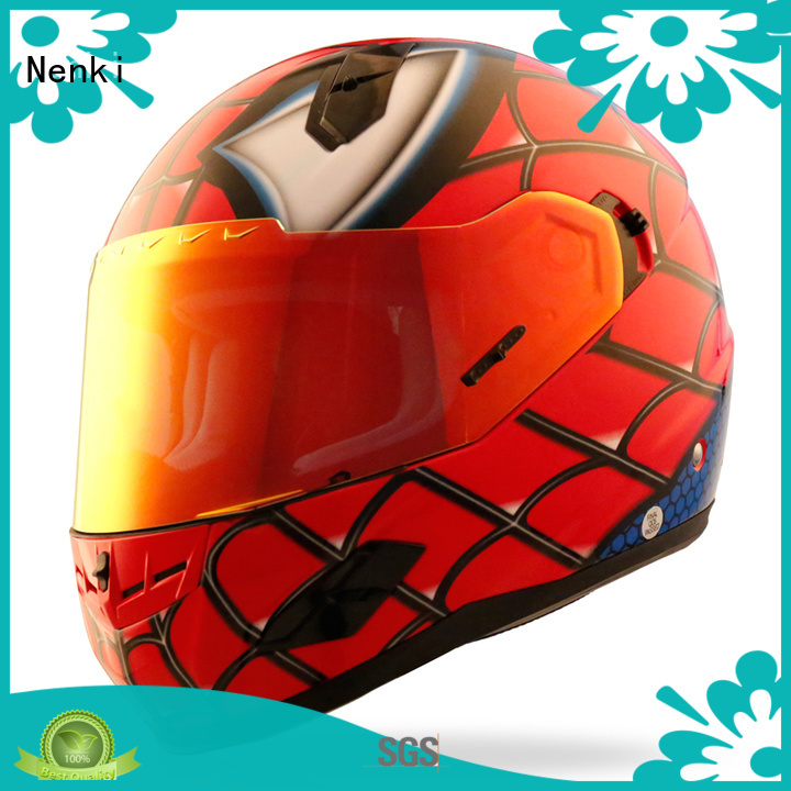 Protective full face affordable Adult discount full face motorcycle helmets Nenki Brand