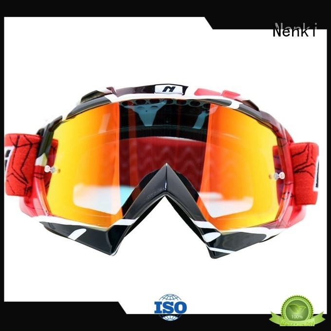 best motocross goggles Anti-Impact cheap motocross goggles Nenki Brand