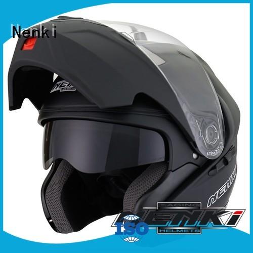 Hot quietest modular helmet Fiberglass Nenki Brand