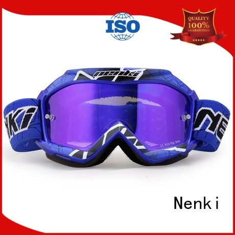 Anti-Impact cheap motocross goggles adjustable Nenki company