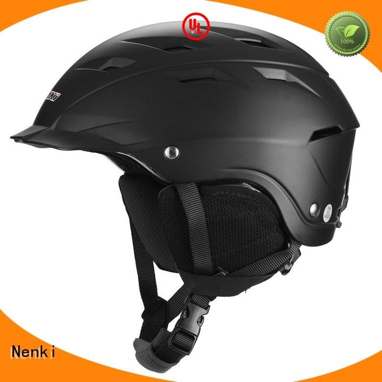 Nenki Brand Adjustable new cheap Protective ladies ski helmet sale