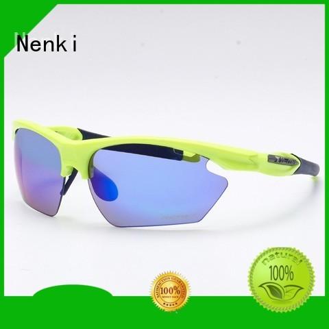 Quality Nenki Brand best sunglasses for bike riding Riding Anti-UV