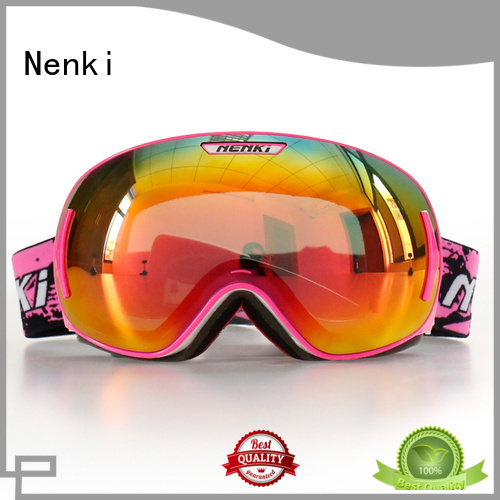 wholesale Hot selling Top rated kids Nenki Brand ski goggles online supplier