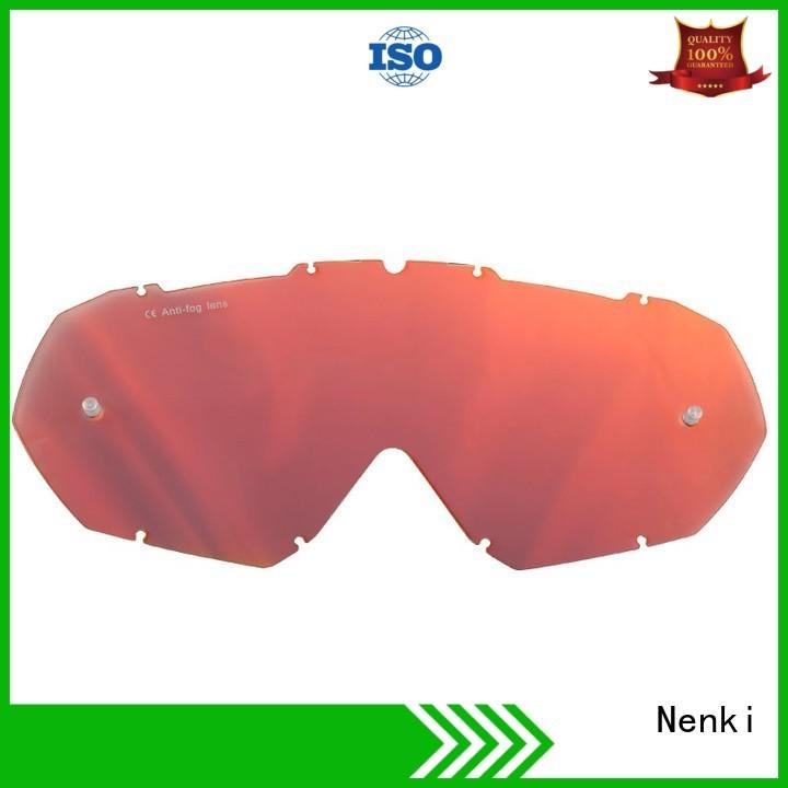 Nenki Brand new Motocross Goggles Lens approved supplier